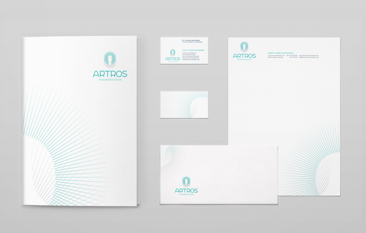 identidad visual artos traumatologos